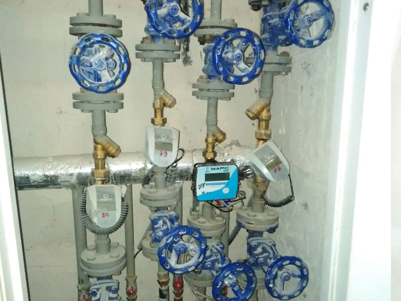 Установка счётчиков на отопление в многоквартирном дома